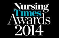 Nursing Times Awards 2014 logo