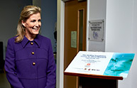 HRH the Countess of Wessex officially opens the Healing Foundation Centre for Burns Research