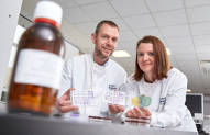 NIHR SRMRC clinical scientists Mark Webber and Fenella Halstead