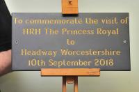 Headway plaque